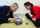 Elever lär sig programmering